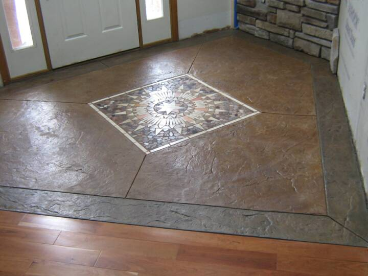 Interior concrete stain suppliers concrete stain suppliers for Decorative flooring ideas